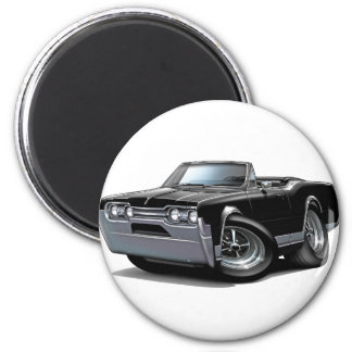 1967 Olds Cutlass Black Convertible Magnet