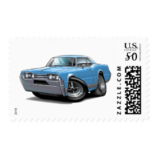 1967 Olds Cutlass Lt Blue Car Postage