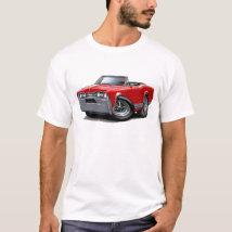 1967 Olds Cutlass Red Convertible T-Shirt