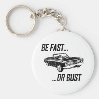 1967 Plymouth Barracuda Basic Round Button Keychain