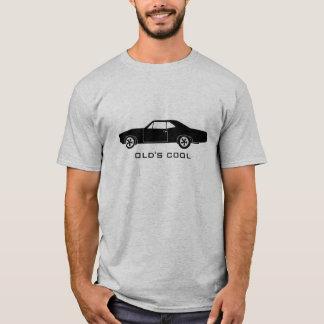 1967 Pontiac GTO (black) - Old's Cool T-Shirt