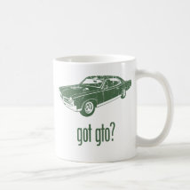 1967 Pontiac GTO Coffee Mug