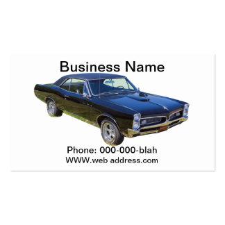 1967 Pontiac GTO Muscle Car Business Card