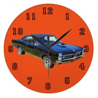 1967 Pontiac GTO Muscle Car Large Clock