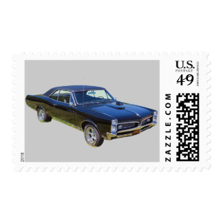 1967 Pontiac GTO Muscle Car Postage Stamp