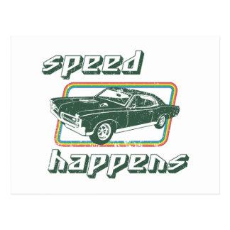 1967 Pontiac GTO Postcard