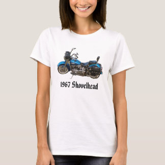 1967 Shovelhead Ladies Fitted Baby Doll T-Shirt