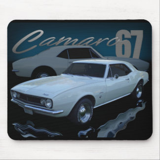1967 white mouse pad