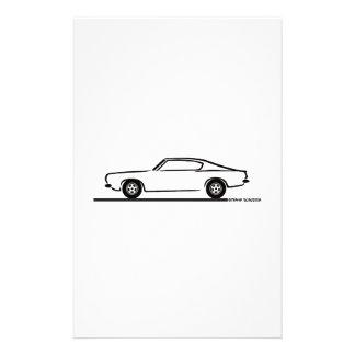 1968 1969 Barracuda de Plymouth Papelería Personalizada