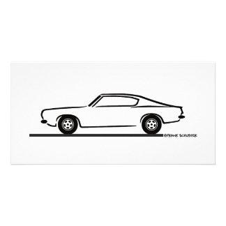 1968 1969 Plymouth Barracuda Card