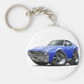 1968-69 AMX Blue Car Keychain
