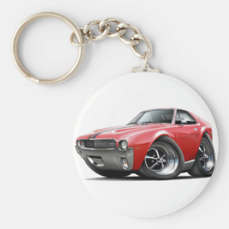 1968-69 AMX Red-Black Car Keychain