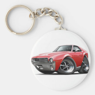 1968-69 AMX Red Car Keychain