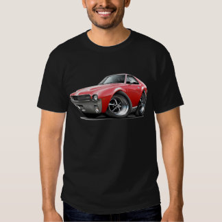 1968-69 AMX Red-White Car Shirts