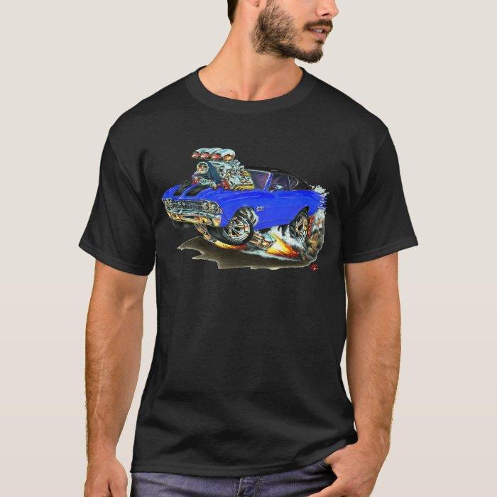 1968-69 Chevelle Blue-Black Top Car