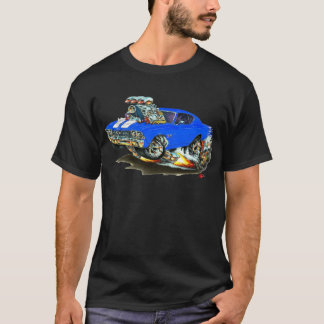 1968-69 Chevelle Blue White Car T-Shirt