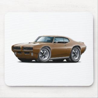 1968-69 coche de GTO Brown Alfombrillas De Raton