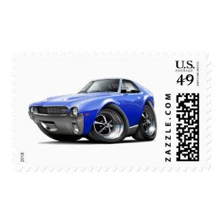1968-69 coche del azul de AMX Envio