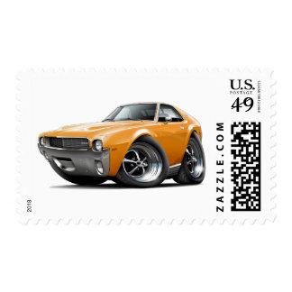 1968-69 coche del naranja de AMX Sello