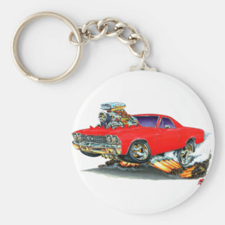 1968-69 El Camino Red Truck Keychain