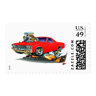 1968-69 El Camino Red Truck Stamps
