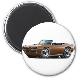1968-69 GTO Brown Convertible Magnet