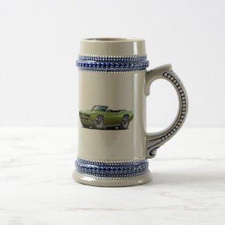 1968-69 GTO Green Convertible Beer Stein