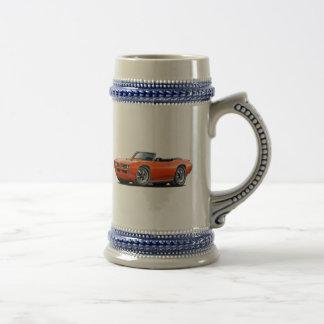1968-69 GTO Orange Convertible Beer Stein