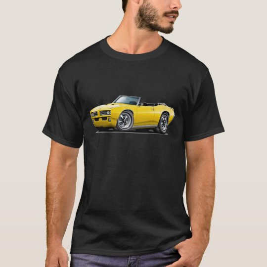 1968-69 GTO Yellow Convertible T-Shirt