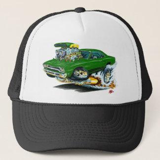 1968-69 Plymouth GTX Green Car Trucker Hat