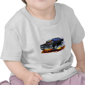 1968-69 Roadrunner Black Car T Shirts