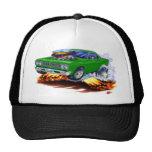 1968-69 Roadrunner Green Car Trucker Hat