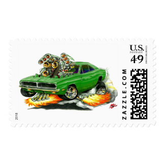 1968-70 Charger Green Car Postage