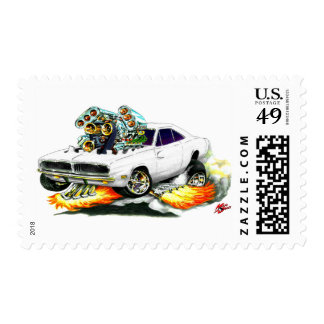 1968-70 Charger White Car Postage