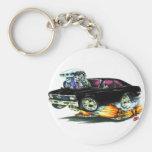 1968-70 Nova Black Car Key Chain