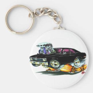 1968-70 Nova Black Car Keychain