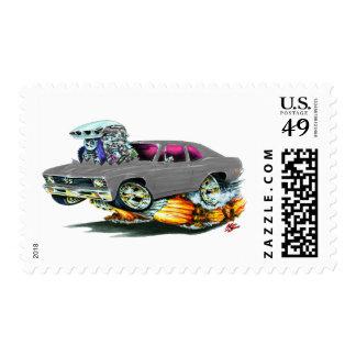 1968-70 Nova Grey Car Postage Stamp