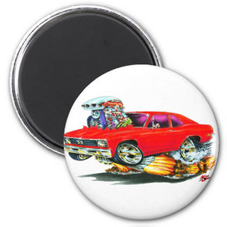 1968-70 Nova Red Car Magnet