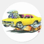 1968-70 Nova Yellow Car Sticker