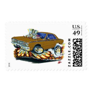 1968-71 coche de Brown del dardo de Dodge Franqueo