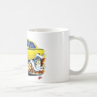 1968-71 Dodge Dart Yellow Car Coffee Mug