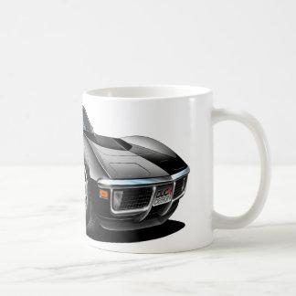 1968-72 Corvette Black Car Coffee Mugs