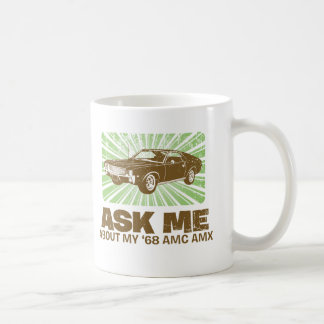 1968 AMC AMX COFFEE MUG