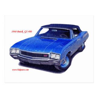 1968 Buick GS 400 Postcard