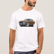 1968 Buick GS Brown Car T-Shirt