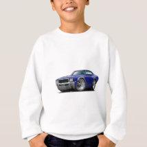 1968 Buick GS Dk Blue Car Sweatshirt