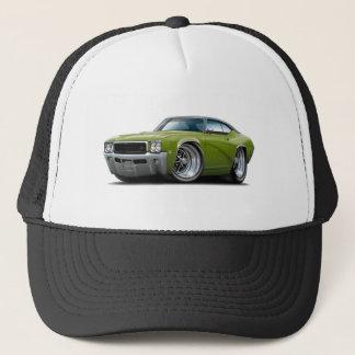 1968 Buick GS Ivy Green-Black Top Car Trucker Hat