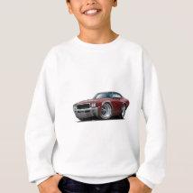 1968 Buick GS Maroon Car Sweatshirt