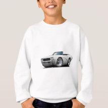 1968 Buick GS White Convertible Sweatshirt