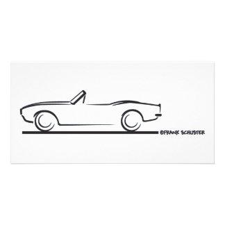 1968 Camaro Convertible BLK Photo Card